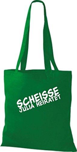 Tela Bolso Kelly Mujer Para De Verde Shirtstown Algodón 0ExdqwOyU