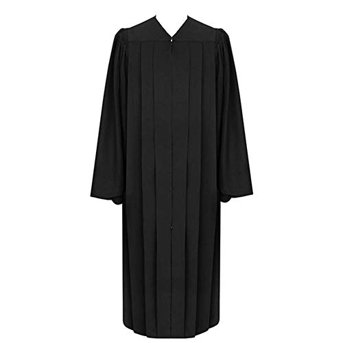 Leishungao Black Classic Judge Robe Height 6'0''-6'2''FF]()