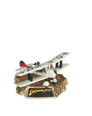 Indiana Jones Titanium Series Last Crusade Biplane (Indiana Jones Plane Fighter)