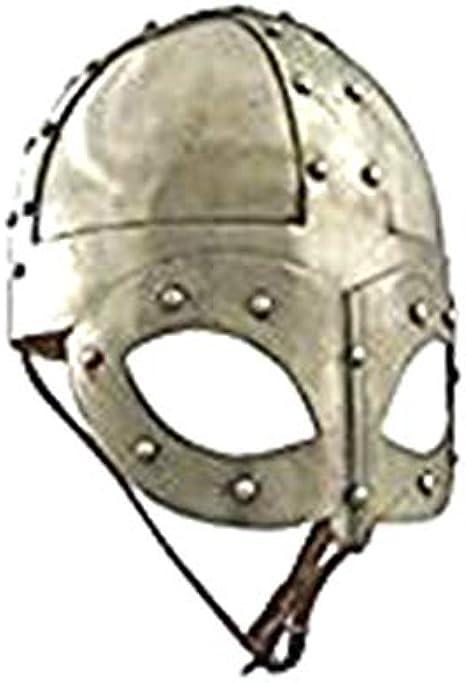 Steel Helmet Viking Norse Spectacle Helmet Medieval Armour Costume Helmet Liner
