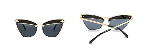 de inspirées cercle Pièce métallique Grise retro rond en Complète polarisées style soleil lunettes vintage du Lennon dvRxtdq