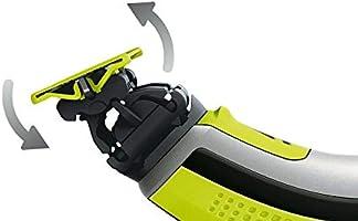 Juego de cuchillas compatibles con Philips Oneblade. Paquete de 3 cabezales de repuesto para afeitadora eléctrica One Blade – Cuchillas no originales con rendimiento profesional barba a la moda en cuestión de