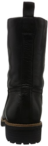 ALDO Damen Bobbi Kurzschaft Stiefel Schwarz (Black Leather / 97)