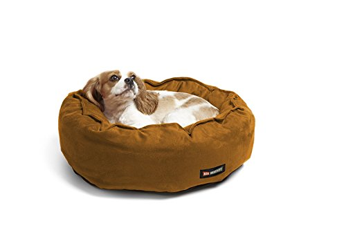 Big Shrimpy Catalina Classic Pet Bed for Cats and Small Dogs, Small, Saddle