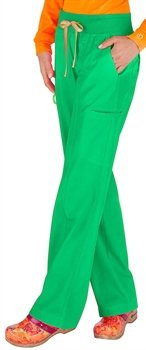 Dazzle Cloth Uniform - Peaches Uniforms Women's Comfort Neon Scrub Pant, Dazzle, XS