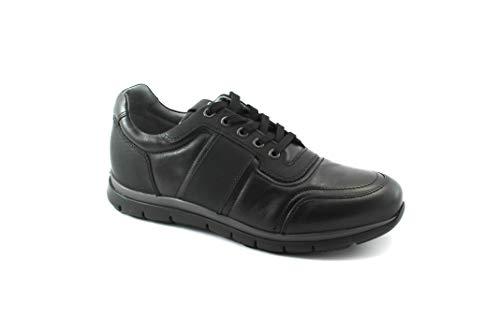 Cuir Nero 482 Lacets Noires Giardini Sport Nero Chaussures Hommes 4ZwnPBZxvq