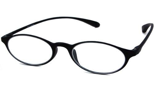 Calabria Reading Glasses - 719 Black Flexi-Light / BLACK +2.25-R719BLK225 - Glasses 719