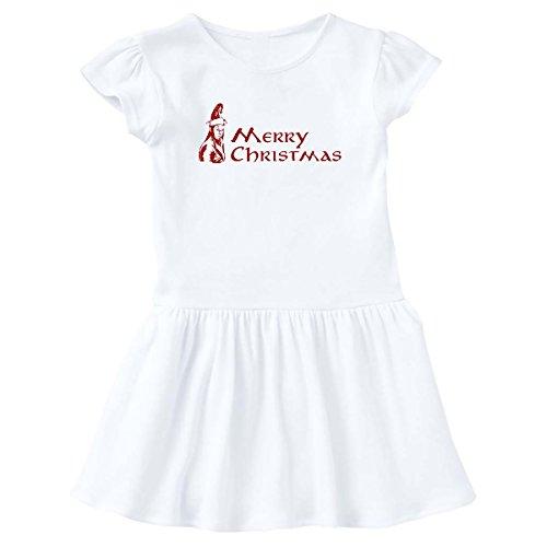 inktastic - Elven Christmas Toddler Dress 4T White e9f4 -
