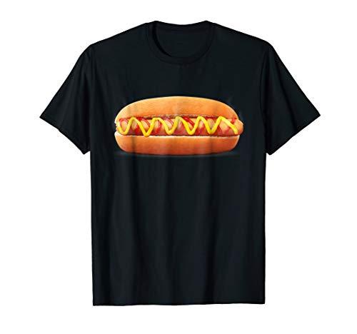 (hot dog Funny Halloween costume shirts matching)