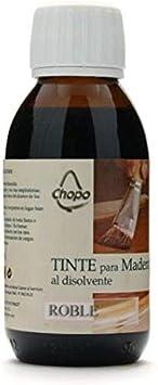 Tinte Madera al disolvente Chopo 125 cc color ROBLE: Amazon ...
