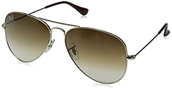 Ray-Ban Original Aviator Sunglasses (RB3025) Gold/Brown Metal - Non-Polarized - 62mm
