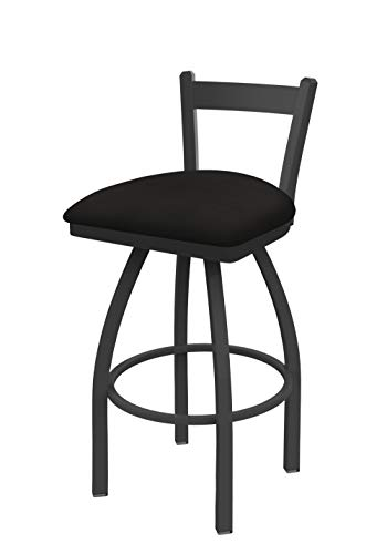 Holland Bar Stool Co. 82130PW003 821 Catalina Low Back Swivel Bar Stool, Canter Espresso