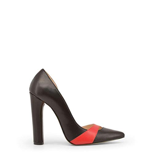 Femme in Italia MINUETTO Noir Talons Made Hauts dHxwXTpXq