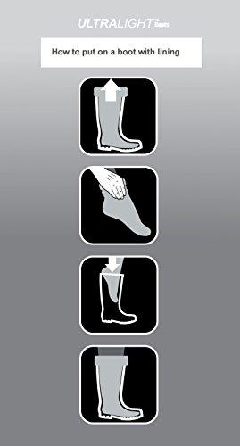 Leon Boots Co. Ultralight Men's Safety 1st EVA Non-Slip Boots, Size US 12-1/2, EU 46, Black by LBC Leon Boots Co (Image #8)