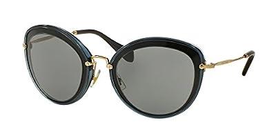 Miu Miu Women MU 50RS 54 Grey/Grey Sunglasses 54mm