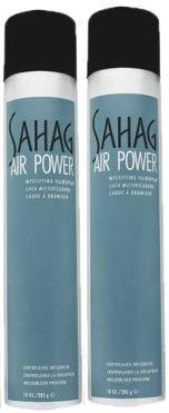 John Sahag Air Power Hair Spray 2 Pack