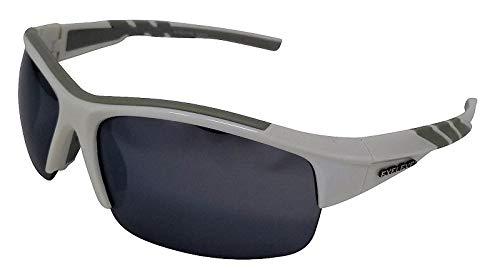 Meteor Gafas de sol deportivas blancas plata espejo Cat-3 ...