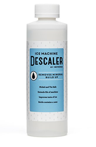Ice Machine Cleaner / Descaler - 4 Uses Per Bottle - Made in USA - Works on Scotsman, Manitowoc and Virtually All Other Brands (Ice Maker Cleaner / Icemaker Cleaner)