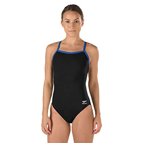 Speedo Female One Piece Swimsuit - Solid Flyback Training ()