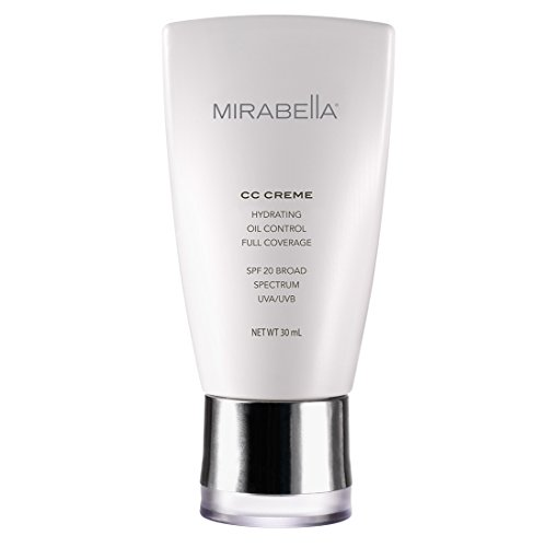Light Hydrating Creme - Mirabella CC Creme Hydrating, Oil Control, Full Coverage with SPF 20 - Fair (Fitz I), 30ml