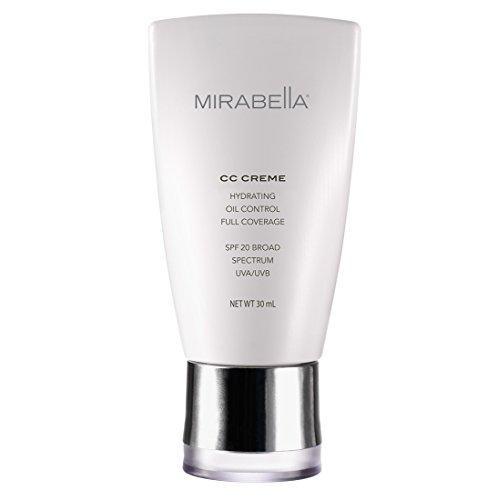 Fair Creme Foundation - Mirabella CC Creme Hydrating, Oil Control, Full Coverage with SPF 20 - Fair (Fitz I), 30ml
