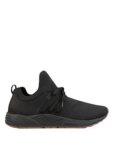 Arkk Copenhagen Mens Raven Nubuck S-E15 Mens Leather Sneakers
