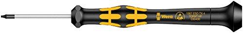 Wera 05030400001 TX4x40mm Kraftform 1567 Micro Torx Driver with Holding Function