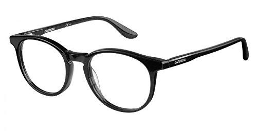 Amazon.com: Carrera 6636/N Eyeglass Frames CA6636N-0807-4919 - Black ...
