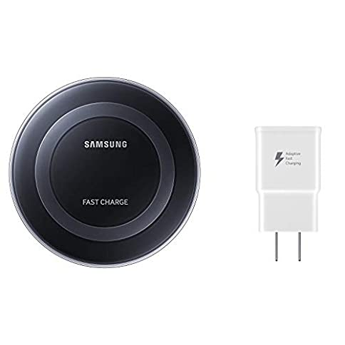 - 31Plalm 2BIFL - Samsung Qi Certified Fast Charge Wireless Charger Pad – US Version – Black