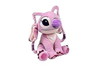 ANGEL Alieno ROSA Amigo de STITCH Felpa Peluche 20cm DISNEY ORIGINAL Lilo Stich CALIDAD SUPERIOR