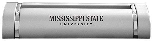 LXG, Inc. Mississippi State University-Desk Business Card Holder -Silver