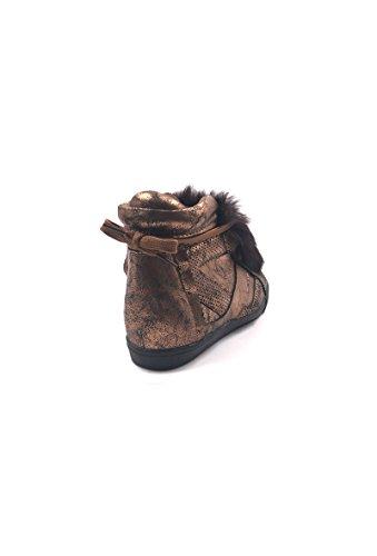 CHIC NANA ,  Damen Durchgängies Plateau Sandalen Bronze