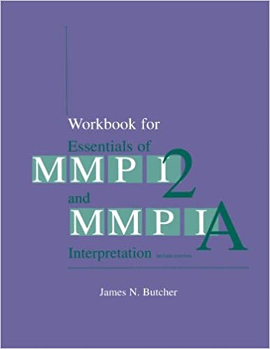 Buy Workbook Essentials Of Mmpi 2 Book Online At Low Prices In India Workbook Essentials Of Mmpi 2 Reviews Ratings Amazon In