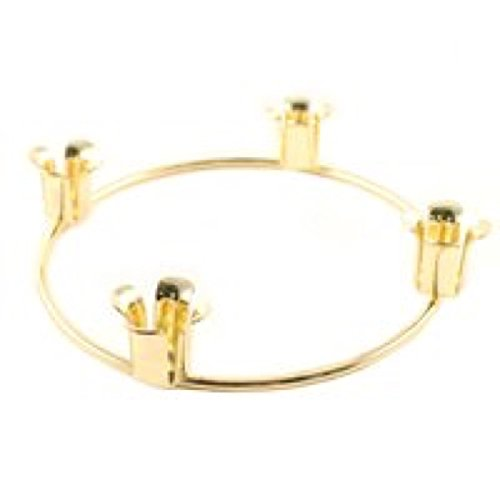 Biedermann and Sons Brass Finish Advent Candle Ring (Advent Candles Holders)