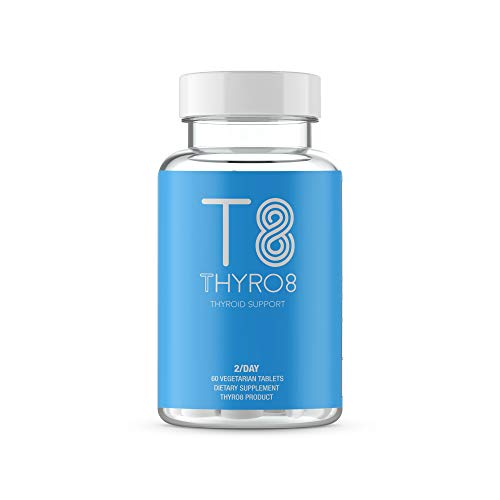 Thyroid Support Supplement T8 With Iodine - Feel Better Formula For Improved Focus, Metabolism, & Better Energy - 60 Tablets - 100% Money Back Guarantee by Thyroid Essentials