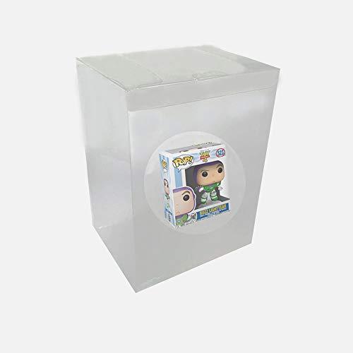 WiCareYo Caja Protectora Estuche Protectora de plastico Transparente para Figuras de Vinilo Funko Pop de 4 Pulgadas
