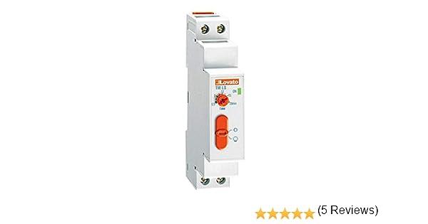 Lovato - Temporizador 220-240vac luz escalera: Amazon.es: Bricolaje y herramientas
