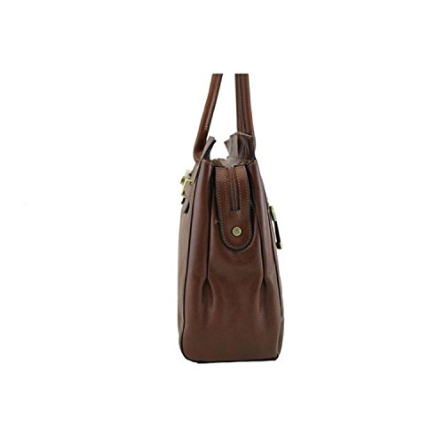 82529 Marron Sac cuir en K de Vachette shopping Katana collet CU8qC