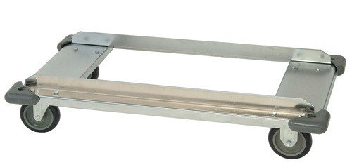 Quantum Storage Systems DB2460C Modular Dolly Frame for Wire Shelving Units, Chrome Finish, 7