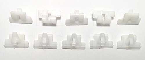 10 X Door Glass Seal Weatherstrip Clips (Inner) Mazda Magnum Pickup (Glass Weatherstrip)