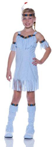 Indian Squaw Costume Child (Blue Native Princess Kids Costume)