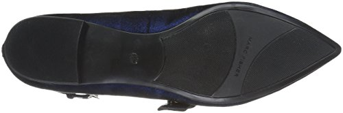 Marc Fisher Para Mujer Alen Mary Jane Flat Blue