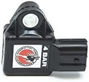 SpeedFactory 4 Bar MAP Sensor K Series Black K20 K24 Acura RSX TSX CRV Civic EP3
