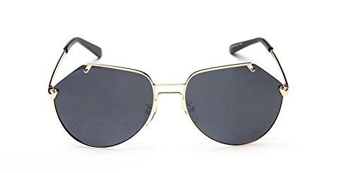 de style Lennon Grise cercle inspirées lunettes A métallique vintage retro en du soleil rond Feuille polarisées Cnfpd4w