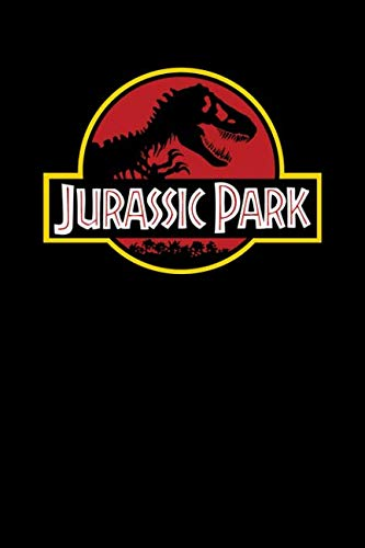 Book cover from Jurassic Park: notebook for jurassic park and dinosaurs fans, 100 lined pages, 6x9 by MovieNotebooks