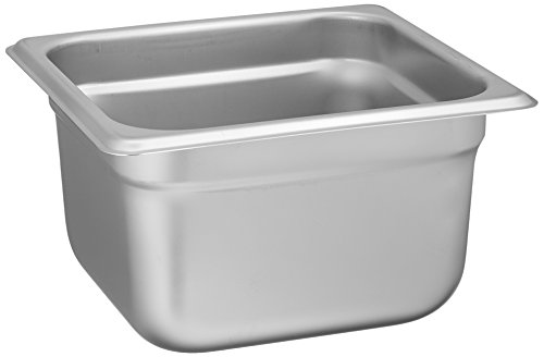 Winco SPJL-604 Anti-Jamming Steam Pan, 1/6 by 4-Inch, Standard Weight (Pan Steam Deep)