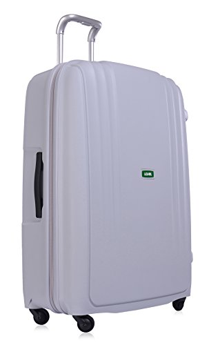 Lojel Streamline Polypropylene Large Upright Spinner Luggage, Grey, One Size