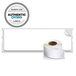 """DYMO LabelWriter Label Thermal, Printer Labels Address Standard 1-1/8"""" x 3-1/2"""" 260 Labels, 2-Carded, White (30251) (B00002QUL0)   Amazon Products"""