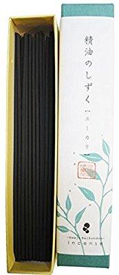 淡路梅薫堂のお香 精油のしずく ユーカリ 9g #183 ×20 アロマ 精油 お香 スティック B01MECXGBH