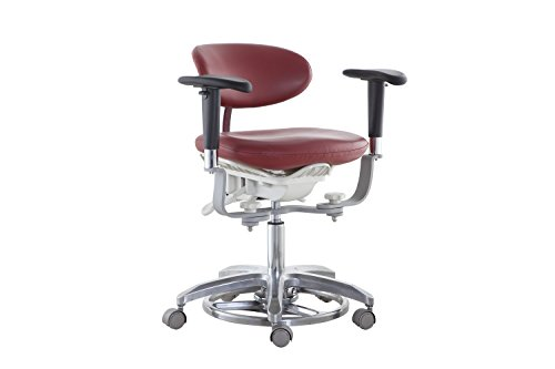 SoHome Microsope Dynamic Chair Foot Controlled Doctor's Mobile Stool with Swiveling Armrest MDS-FC1 by SoHome (Image #9)
